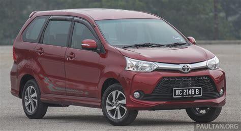 Toyota Avans Gallery Toyota Avanza Facelift Now On Sale In M Sia