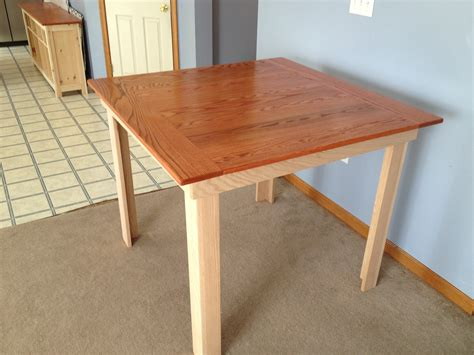 Diy Kitchen Table Plans White S Counter Height Kitchen Table Plans Will Probably Make This With A Few Changes For