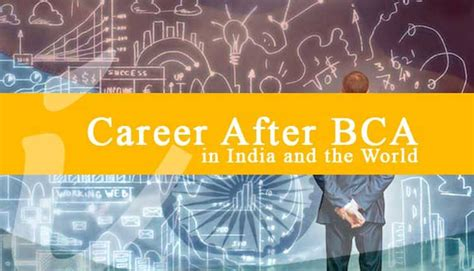 bca career career opportunities and scope after bca in india isrg rajan