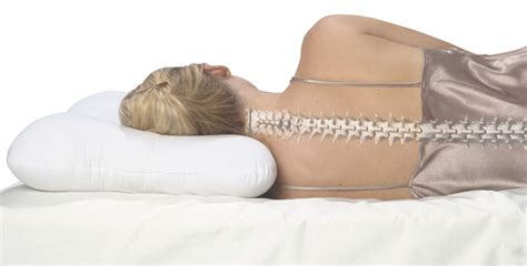 Neck Alignment Pillow by To Help With Neck Alignment And Shoulder Balance This