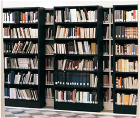 scaffali biblioteca tecnoslide
