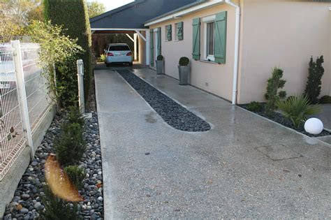 beton allee garage beautiful incroyable allee de garage