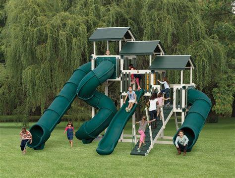 kid swing set kid s outdoor playsets kid s vinyl swing sets