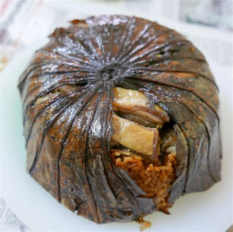glutinous rice wrapped in lotus leaf ersand cafe 5 cny home meals review eatdrink