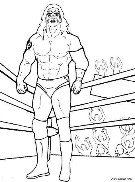 wrestling wwe coloring pages free and printable printable wrestling coloring pages for kids cool2bkids