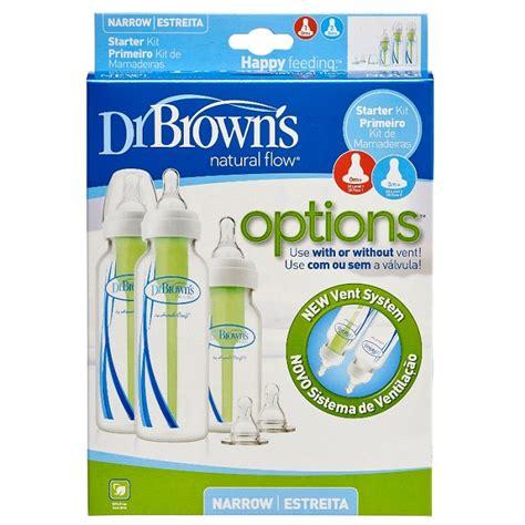 Botol Dr Brown Browns Options Option Narrow Standard Bottle 120ml 60 dr brown s options starter kit