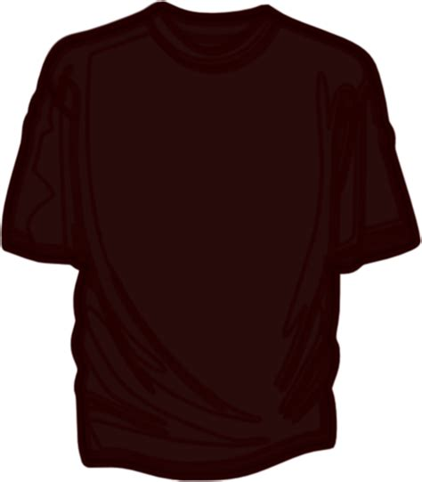 Brown T Shirt brown t shirt clip at clker vector clip