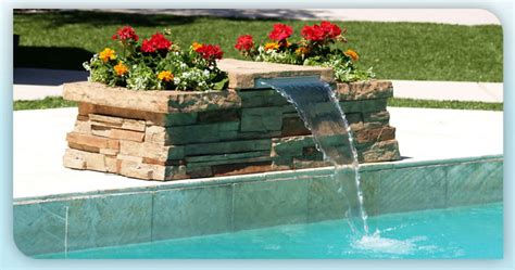 how to build a pool waterfall diy pool waterfall pool design ideas