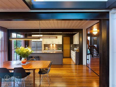 Dining Table, Kitchen, Shipping Container Home in Brisbane