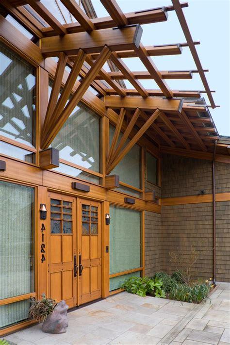 japanese arbor entry asian  pnw home builder single