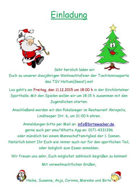 Muster Einladung Jahreshauptversammlung Sportverein Einladung Weihnachtsfeier Verein Animefc Info
