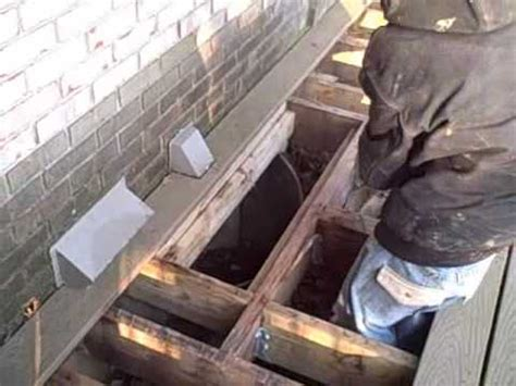 window well drains prevent water pouring in basement
