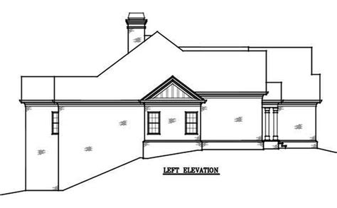 two story brick house plans 2 story 4 bedroom brick house plan by max fulbright designs