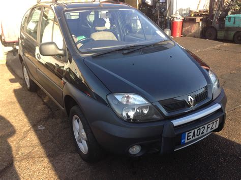 renault scenic 2002 2002 renault scenic rx ja pictures information and