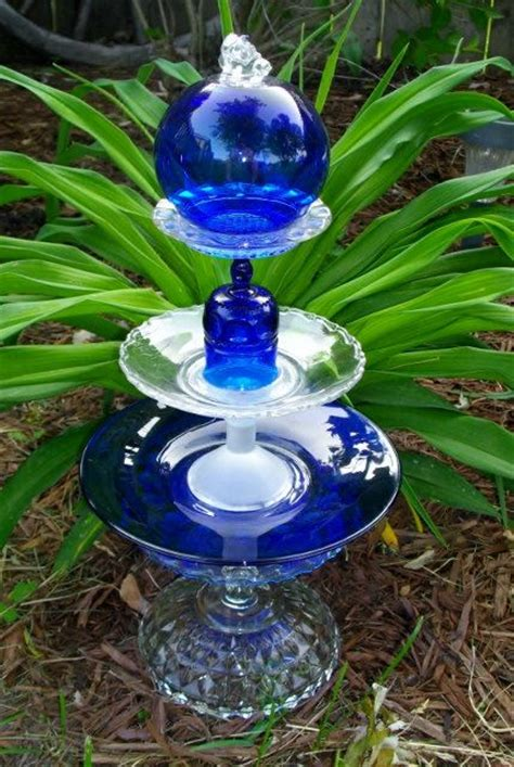 Garden Glass Totems Top 91 Ideas About Recycled Glass On Glass