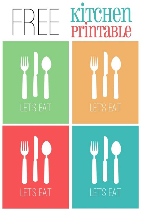 Free Kitchen Printables by 269 Best Images About Tags And Other Free Stuff On