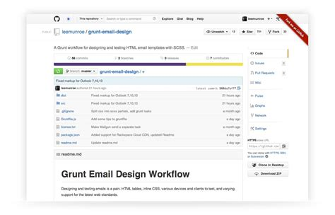 pattern javascript email optimize your html email design workflow with grunt js