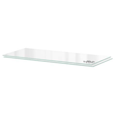 utrusta shelf glass 80x37 cm ikea