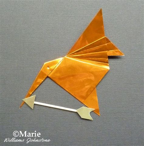 origami mockingbird hunger mockingjay origami