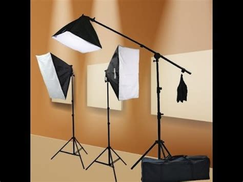 what is a good low cost lighting kit & video camera for