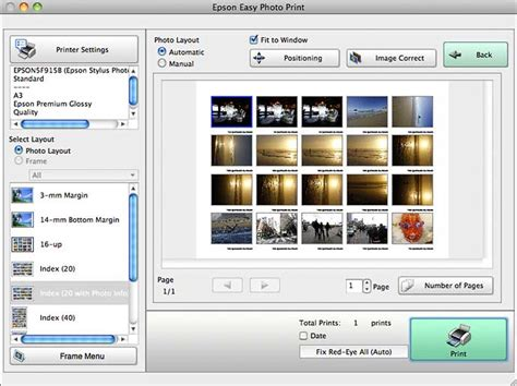 photo layout software for printing epson stylus photo r3000 review a3 colour and black white