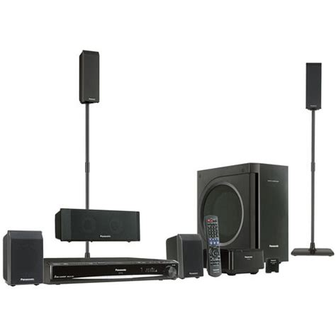 Home Theater Panasonic panasonic sc pt760 home theater system sc pt760 b h photo