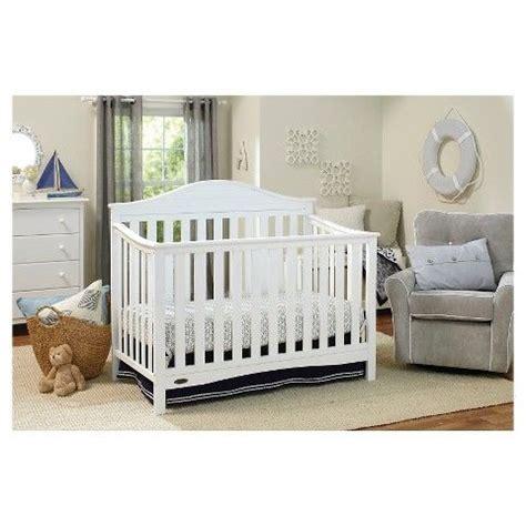 Graco Nursery Furniture Sets Graco Harbor Lights 4 In 1 Convertible Crib White Nursery Furniture Pinterest