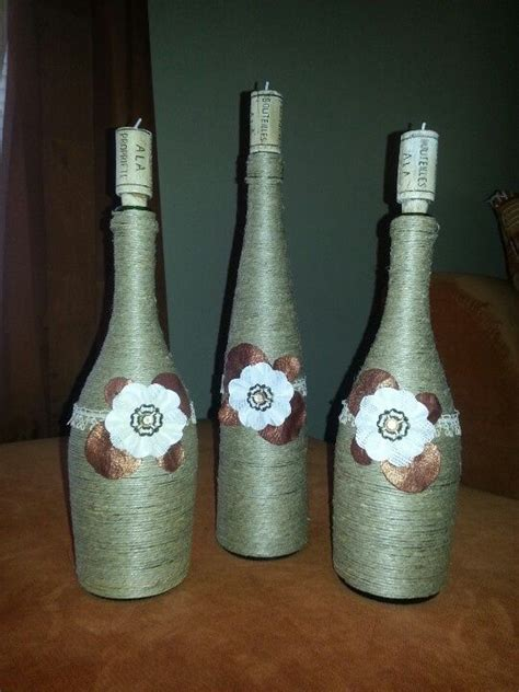 diy decorative wine bottles diy for the home my