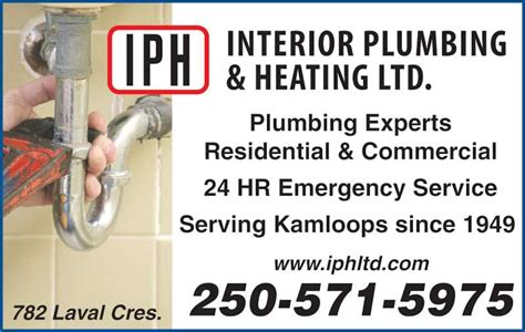 Bc Heating And Plumbing by Interior Plumbing Heating Ltd Kamloops Bc 782 Laval