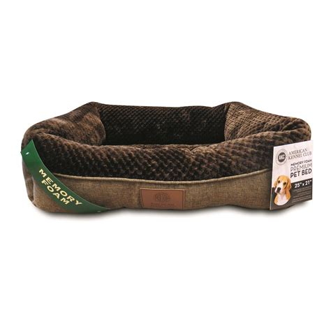 akc dog beds akc memory foam cuddler dog bed 690246 kennels beds