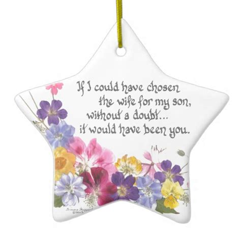 daughter in law gift christmas ornament zazzle