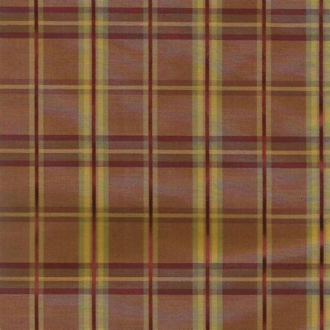 Gold Plaid Curtains Strafford Ketchup Fabric Faux Silk In Plaid Pattern With Gold And Color For Custom Window