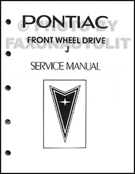 free car repair manuals 1983 pontiac sunbird electronic valve timing 1983 pontiac j2000 and sunbird repair shop manual original looseleaf
