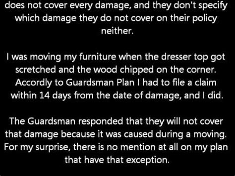 how much is a home warranty plan furniture protection plan review guardsman reviews 1