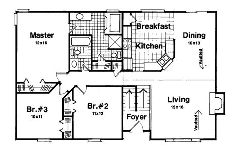 Split Level Floor Plan by Split Level Home Addition Plans Country House Plan