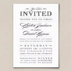 black wedding invitations wedding invitation wording