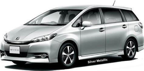Gray Or Grey Color new toyota wish body color photo exterior colour picture