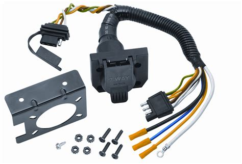 vehicle to trailer wiring wire 144 7 way flat pin
