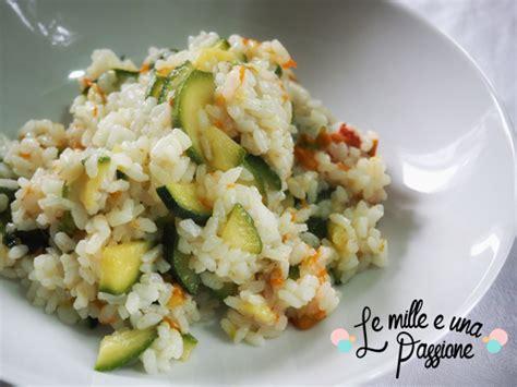 riso fiori di zucca riso con zucchine e fiori di zucca le mille e una passione