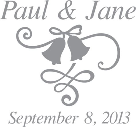 glass etching templates for free wedding bells and ribbon pre cut patterns