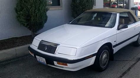 1992 chrysler lebaron lx v 6 convertible with 60 300 miles video walk around sold sold sold