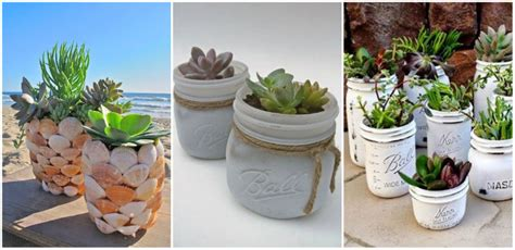 homemade flower pots ideas 20 diy mason jars flower pots home design garden