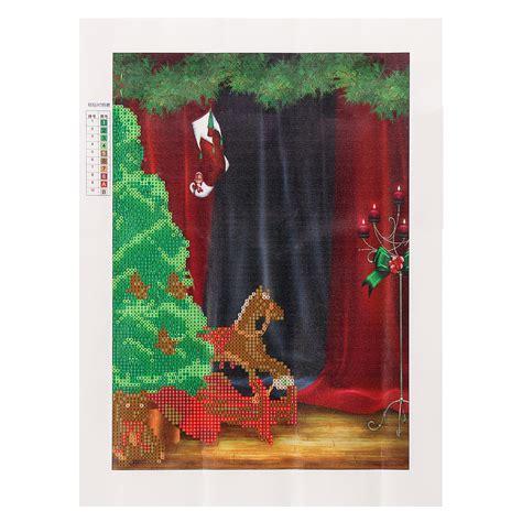pattern and decoration artist 30x40cm merry christmas dolls 5d diamond painting