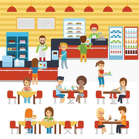 cafeteria clipart royalty free school cafeteria clip vector images
