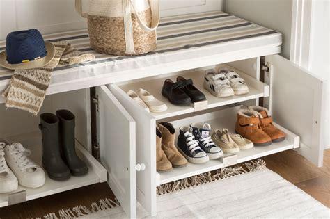 banco zapatero vestidor zapateros y accesorios de orden para guardar tus zapatos