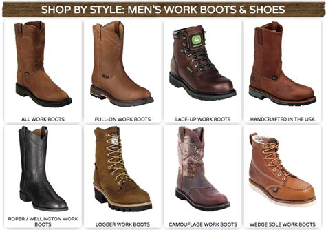 type of boots for men s western work boots special cowboy boots western