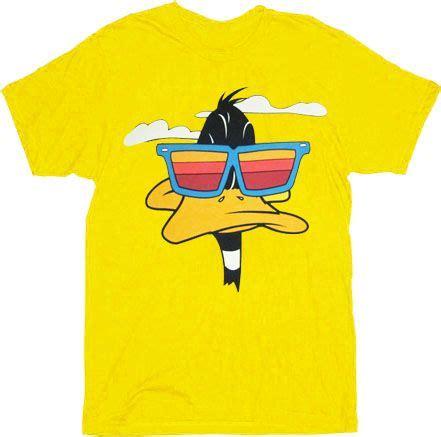 Tshirt Duck daffy duck t shirt yellow buttercups