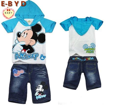 Hoodie Mickey Boy Cloth aparrels for infants and childre