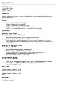 Communication Resume Sles by Impressive Communication Featuring Networking Skills Hotel Sales Manager Resume Expozzer