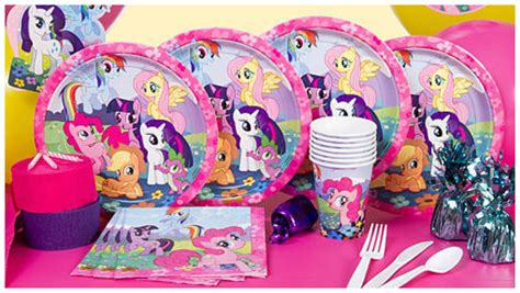 little decorations my little pony party planning ideas supplies horse